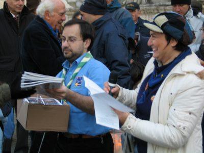 Veglia al Campidoglio 2007 - Roma
